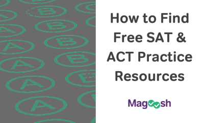 Finding Free SAT & ACT Practice Resources